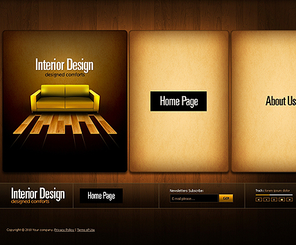 Interior design template's screenshot