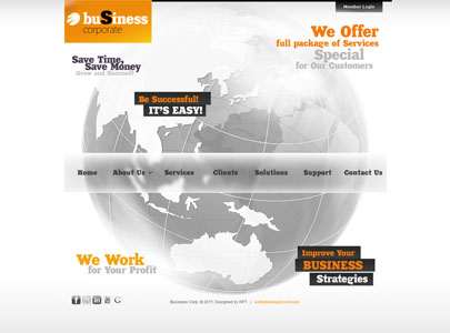 The image of Business Corporate HTML theme