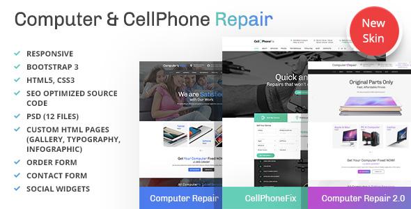 Computer Repair template