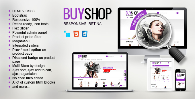 Buyshop CS-cart theme's image