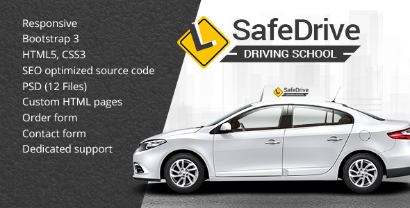 Driving School template