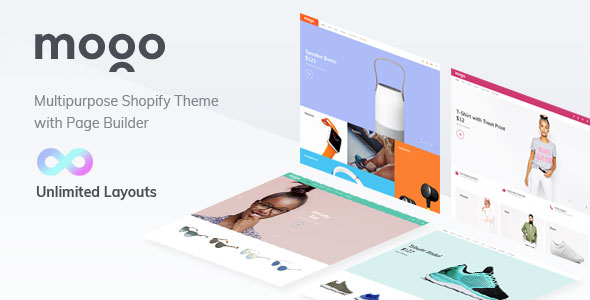 Premium bootstrap fashion - clothing Shopify theme MOGO