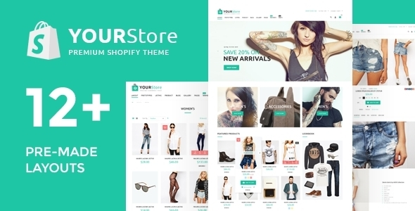 YourStore Shopify Fashion theme image
