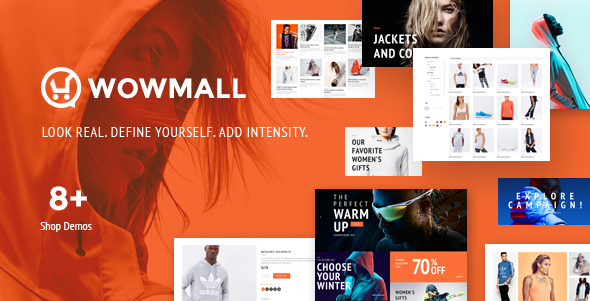 Image of WowMall responsive premium WordPress theme