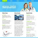 Medical center template's image