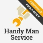 Handy Man Service Html5 template image