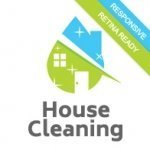 House cleaning website theme screenshot