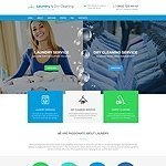 Laundry Dry Commercial Cleaning Services website template image