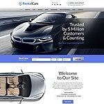 Rental Cars responsive html5 template image