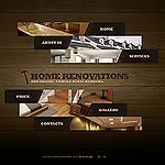 Home Renovations website template picture