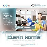 Clean Home website template image