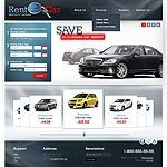 rent car website image