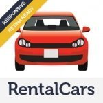 Rental Cars Html5 template's preview