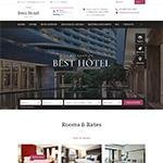 Primary Hotel Html5 Website Template image