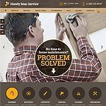 Handy Man service website template's picture