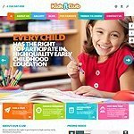 Kids Club html theme image
