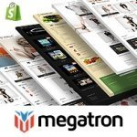 Megatron Shopify website theme's image