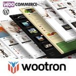 Wootron Wordpress template main page image