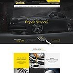 Auto Car repair website template